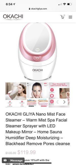 okachi facial steamer for Sale in Los Angeles, CA