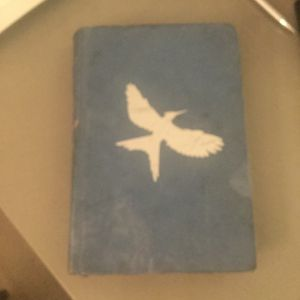 A Blue Cover Hunger Games Book for Sale in Sacramento, CA