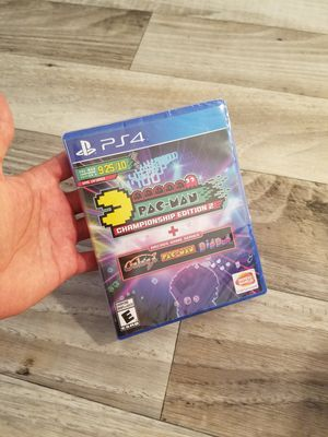 Brand New Ps4 Game Pacman Championship Edition 2 + Arcade Game Series for Sale in Phoenix, AZ