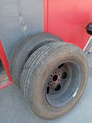 Tires with rims for Sale in Sacramento, CA