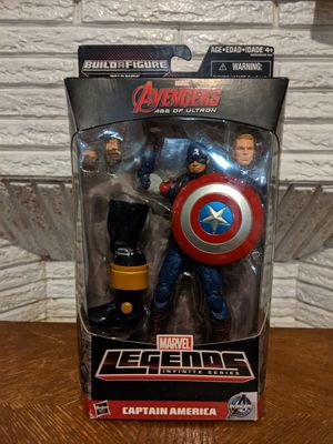 Marvel Legends Captain America Avengers Age of Ultron Thanos Wave BAF for Sale in Woodland Park, NJ