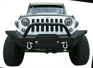 07-21 Jeep Wrangler JK JL JT Full Width Front Bumper Rock Crawler w/ Winch Plate for Sale in Los Angeles, CA