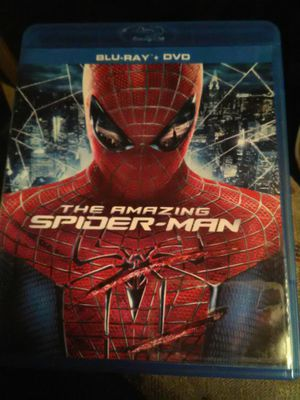 The Amazing Spider-Man Blu Ray movie for Sale in Ontario, CA