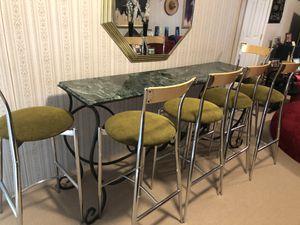 Bar Table & Stool for Sale in Alexandria, VA