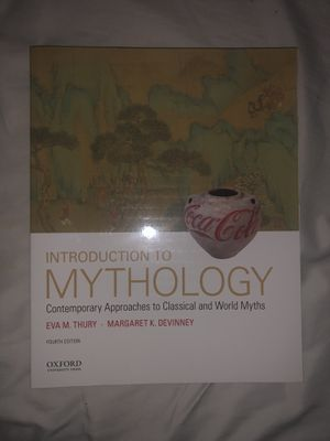 Introduction to mythology fourth edition brand new for Sale in Orlando, FL