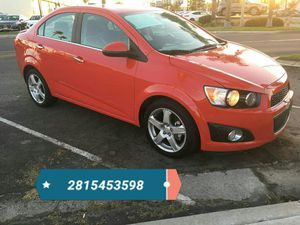 2016 Chevy sonic con $ 1500 de down payment for Sale in Houston, TX