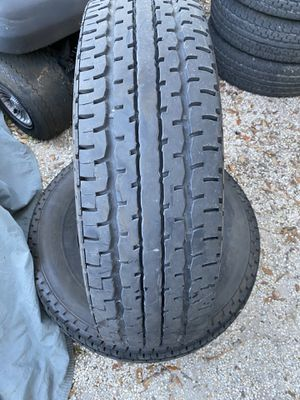 2) 235/80/16 Primewell ST 500 Steel Belted Trailer Tires for Sale in Palm Harbor, FL