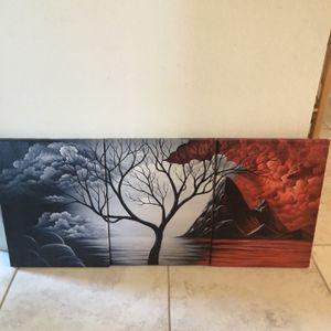 Canvas Wall Decor for Sale in Poinciana, FL