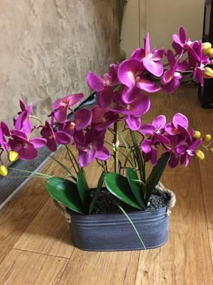 Fake Orchid Plant With Stand for Sale in Phoenix, AZ