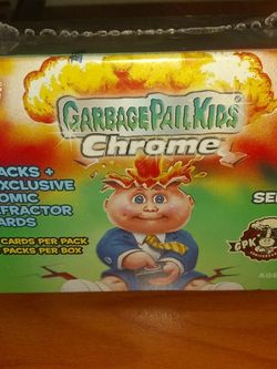 Brand New Garbage Pail Kids Chrome 35th Anniversary Blaster Box for Sale in Lexington,  KY