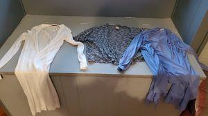 2 long sleeve 1 short sleeve cardigan for Sale in Leechburg, PA