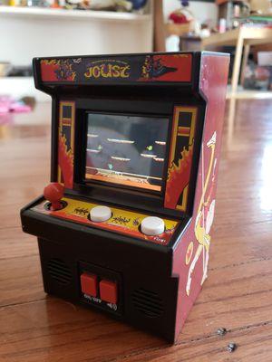 Mini Frogger Arcade Video Game - Mini Joust Arcade Video Game for Sale in Sacramento, CA