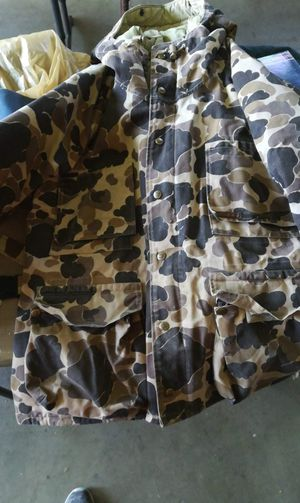 Columbia camo hunting jacket, XL for Sale in Prineville, OR