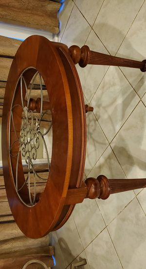 Round dining table base kitchen table for Sale in Southwest Ranches, FL