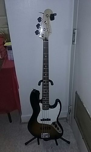 Fender four string Bass Guitar for Sale in Alexandria, VA