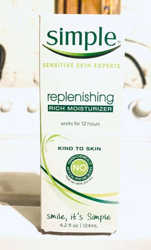 SIMPLE RICH MOISTURIZER💥 for Sale in New Britain, CT