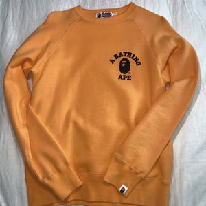 Bape College Logo Crewneck Sweater for Sale in North Haven, CT