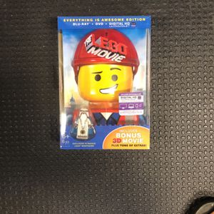LEGO The Movie Blu-ray Everything Is Awesome Edition Bnib for Sale in Orange, CA