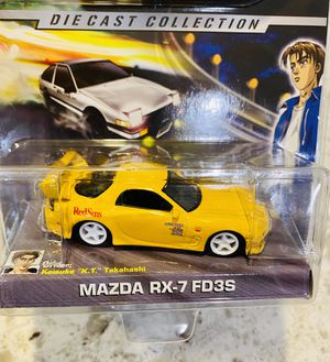 Initial D : Mazda RX-7 FD3S | 1:64 Scale Diecast Collection | Jada Toys for Sale in Seattle, WA