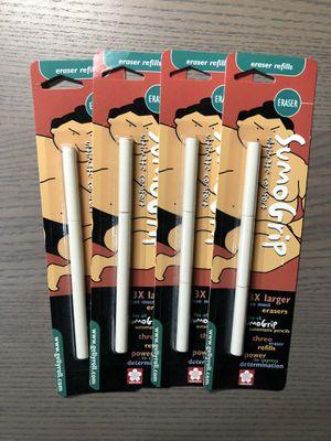 Sakura of America SumoGrip Mechanical Pencil Eraser Refill, 3 / Pack - White for Sale in Irvine, CA