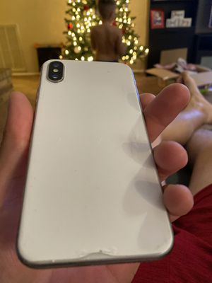 Att iPhone X 256gb and watch series 3 celluar for Sale in Grand Prairie, TX