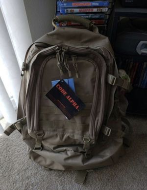 Military tactical back with hydra pack for Sale in Sanger, CA