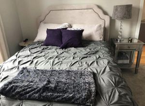 FULL size mattress + headboard + bed frame for Sale in Chicago, IL