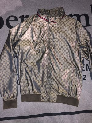 Gucci Nylon Bomber Jacket Authentic for Sale in Irvine, CA