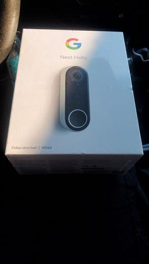 Google Nest Door Bell Camera for Sale in Columbia, SC