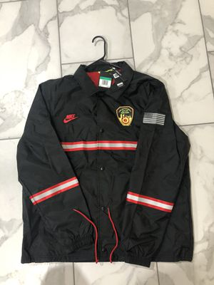 Nike FDNY New York Fire Department Coach Jacket for Sale in Gilbert, AZ