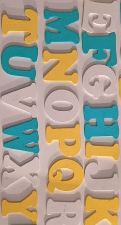 Wall Art Alphabets Nursery for Sale in Palatine,  IL