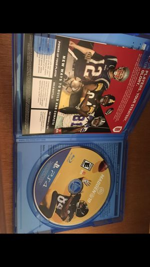Madden 19 - PS4 for Sale in Lemon Grove, CA