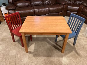 Pottery Barn Kids Caroline Table and Two Chairs for Sale in Bellmore, NY