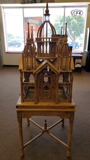 Teak wood bird house for Sale in Victoria, TX