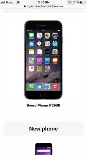 BOOST MOBILE IPHONE 6 32GB for Sale in Levittown, PA