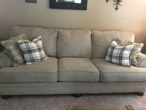Ashley Brand Couch and Loveseat for Sale in Montesano, WA
