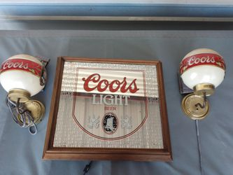 Antique Coors Light Signs Three And All for Sale in Fort Worth,  TX
