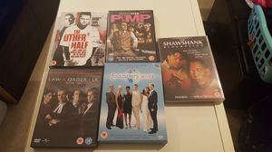 Uk dvd collection ...only plays on UK dvd players for Sale in undefined