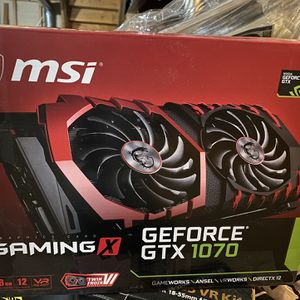 GEFORCE GTX 1070 GAMING X 8G for Sale in Arlington Heights, IL