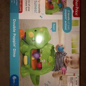 Fisher price Double Poppin Dino for Sale in Bensalem, PA