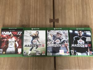Xbox One Games- all 4 for Sale in Las Vegas, NV