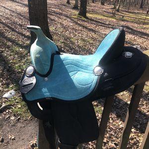 "13"" Western Pony Saddle King Series for Sale in Franklin, NJ"