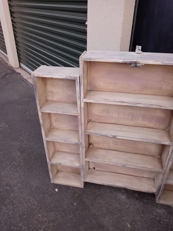Custom made wall hang shelf