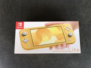 Nintendo Switch Lite Yellow BRAND NEW for Sale in Sioux Falls, SD