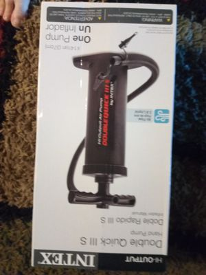 BRAND NEW AIR PUMP ASKING $20 MUST PICK UP 73RD AVE AND INDIAN SCHOOL for Sale in Phoenix, AZ