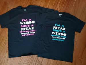 I'm a weirdo, I'm a freak shirts for Sale in Murfreesboro, TN