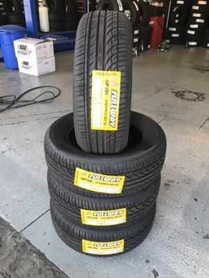 215/60/16 New set of tires installed for Sale in Rancho Cucamonga, CA