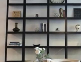 Crate and Barrel Ladder Shelves, Black for Sale in Chatsworth,  CA