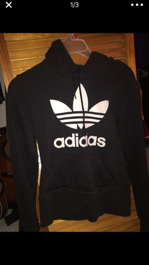 Black adidas hoodie size small for Sale in Miami, FL