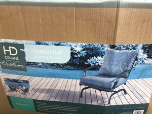 New Patio set with rocker Chairs With table for Sale in Lakewood, CO
